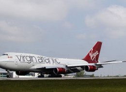 The incident is said to have occurred on a Gatwick to Las Vegas bound flight last week (file picture)