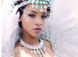 Rihanna in a bikini on Instagram.