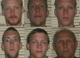 Jackson family mug shots. (Photo: Perquimans County Sheriff's Office)