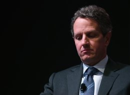 Former U.S. Treasury Secretary Tim Geithner wants to expand executive authority so presidents may act swiftly in times of financial crisis.  (Photo by Chip Somodevilla/Getty Images)