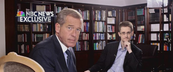 BRIAN WILLIAMS EDWARD SNOWDEN