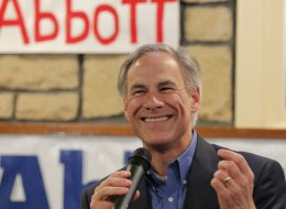 As a Texas Supreme Court justice, Greg Abbott ruled against allowing Log Cabin Republicans to set up a booth at the state's 1996 GOP convention. (Ron Jenkins/MCT)