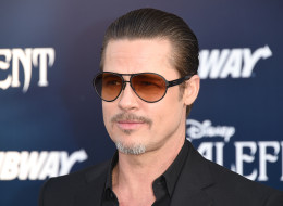 HOLLYWOOD, CA - MAY 28:  Actor Brad Pitt attends the World Premiere of Disney's 'Maleficent' at the El Capitan Theatre on May 28, 2014 in Hollywood, California.  (Photo by Jason Merritt/Getty Images)