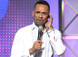 LOS ANGELES, CA - JUNE 28:  Comedian Mike Epps attends the Comedy Stage: Mike Epps during the 2013 BET Experience at Club Nokia on June 28, 2013 in Los Angeles, California.  (Photo by Earl Gibson III/Getty Images for BET)