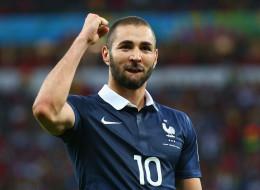 Karim Benzema fue el hombre del juego al anotar dos goles