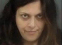 Suzanne Hussain, 34, is accused of vandalizing and flooding a home in Calhoun, Georgia, and then hiding in the closet naked.