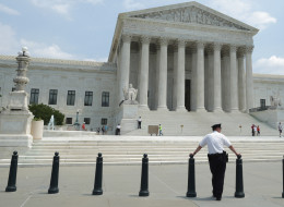 The Supreme Court has a buffer zone. But it does not think abortion clinics should have the same privilege. (Photo by Chip Somodevilla/Getty Images)