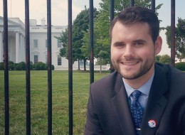 White House intern Zach Wahls in July 2014. (Courtesy Zach Wahls)