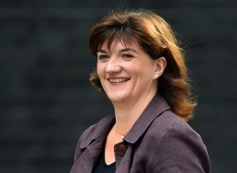 Britain's new Education Secretary Nicky Morgan, the new arrives in Downing Street in London on July 15, 2014.  Britain's Prime Minister David Cameron unveiled a new cabinet ahead of next year's general election.  AFP PHOTO/BEN STANSALL        (Photo credit should read BEN STANSALL/AFP/Getty Images)