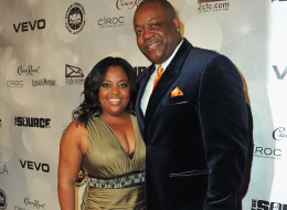 Actress Sherri Shepherd and Lamar Sally arrive at the National Basketball Players Association (NBPA) All-Star Gala on February 19, 2011 in Los Angeles, California. (Photo by Alberto E. Rodriguez/Getty Images)