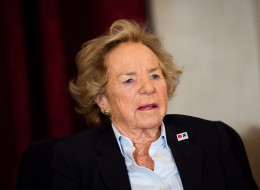 Ethel Kennedy  on November 21, 2013 in Washington, DC. (Photo by Drew Angerer/Getty Images)