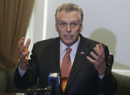 Virginia Gov. Terry McAuliffe (D) said that he supported legalizing medical marijuana, but that he wasn't ready to support legalizing the drug for recreational purposes.  (AP Photo/Steve Helber)