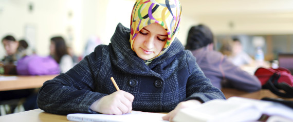 MUSLIM STUDYING