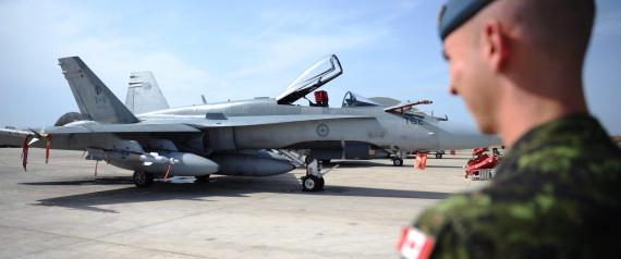 CANADA CF 18 IRAQ
