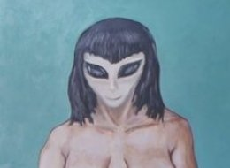 Painter David Huggins Says He Lost His Virginity To Alien Lover