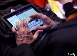More small business owners are using the iPad to monitor business operations.