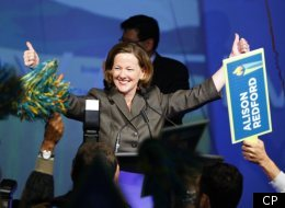 Under Alison Redford's leadership the Tories are on track to win another majority government in the province.