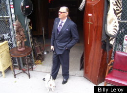 Final act: Billy Leroy will shut down Billy's Antiques & Props to make way for a permanent retail space at Houston and Bowery.