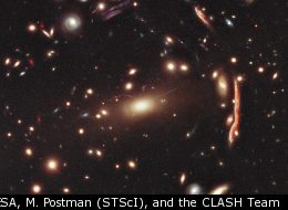 NASA, ESA, M. Postman (STScI), and the CLASH Team