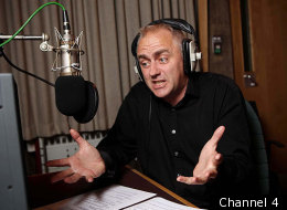 The voice behind Come Dine With Me... Dave Lamb