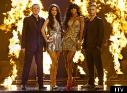 The X Factor judges are seriously hot.