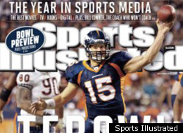 Tim Tebow is on the Sports Illustrated cover again!