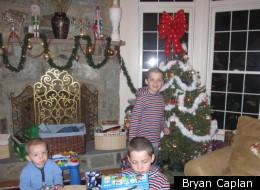Bryan Caplan's kids on Christmas Day 2010.