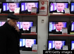 Putin appeared on TV and accused the west of