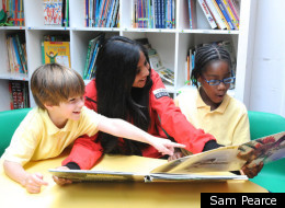 City Year London: Team Leader Shakela Helping St Luke's Pupils Read