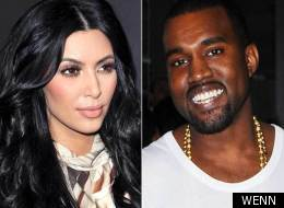 Kim and Kanye sitting in a tree...