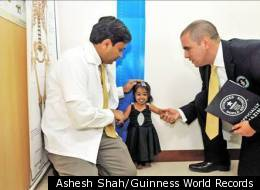 Jyoti Amge, who measures 24.7 inches tall, has just been declared the world's smallest woman, that isn't the whole story. Amge, 18, who hails from Nagpur, India, is also a budding fashionista who customizes her clothes and jewelry to match her tiny size.