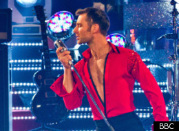 Harry Judd and Aliona in the Strictly final