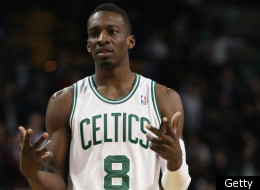 BOSTON, MA - MARCH 02: Jeff Green #8 of the Boston Celtics reacts to a call in the second half against the Phoenix Suns on March 2, 2011 at the TD Garden in Boston, Massachusetts. The Celtics defeated the Suns 115-103.