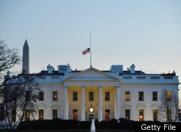 The U.S. flag flies above the White House on January 9, 2011 in Washington. (MANDEL NGAN/AFP/Getty Images)