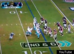 Cam Newton and the Carolina Panthers pulled off a bizarre trick play for a touchdown against the Texans.