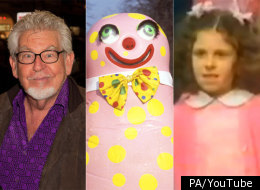Rolf Harris, Mr Blobby, St Winifred's School Choir all had Christmas number ones