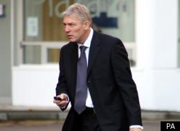Teacher Mark Westcott arrives at Swindon Crown Court to be sentenced