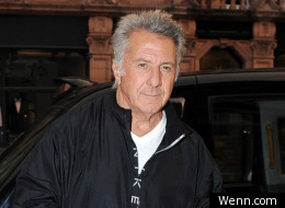 Dustin Hoffman in London
