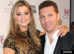 Holly Valance and her fiancé Nick Candy.