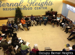 The December 21st meeting of Occupy Bernal Heights.