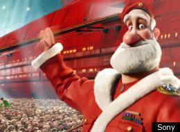 'Arthur Christmas' has topped the UK Box Office Christmas chart
