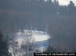 Mohawk Mountain has seven lifts to transport skiers.