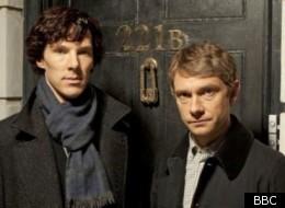 Benedict Cumberbatch and Martin Freeman will co-star in 'Sherlock' on New Year's Day