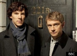 Benedict Cumberbatch and Martin Freeman will co-star in 'Sherlock' on New Year's Day