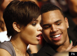 Rihanna and Chris Brown message each other on Twitter