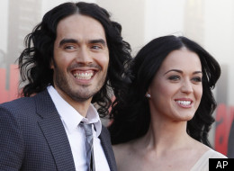Russell Brand and Katy Perry in happier days
