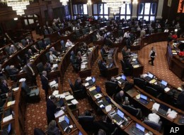 The Illinois House, shown here while debating the CME Group/Sears tax break package, and state Senate alike had a busy 2011, resulting in a bevy of new laws going into effect Jan. 1, 2012.