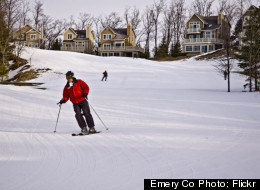 Homestead guests can rent privately owned homes overlooking the slopes.