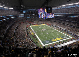 ARLINGTON, TX - FEBRUARY 06: A band performs prior to Super Bowl XLV at Cowboys Stadium on February 6, 2011 in Arlington, Texas. (Photo by Tom Pennington/Getty Images)