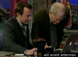 will arnett letterman